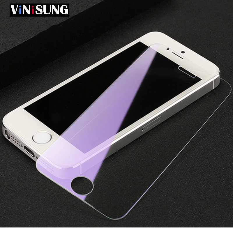 9H Tempered Glass For Iphone X 8 8plus XR 5 5s SE 6 6s 7plus Phone Screen Protector For Iphone 7 XS MAX Front GLASS