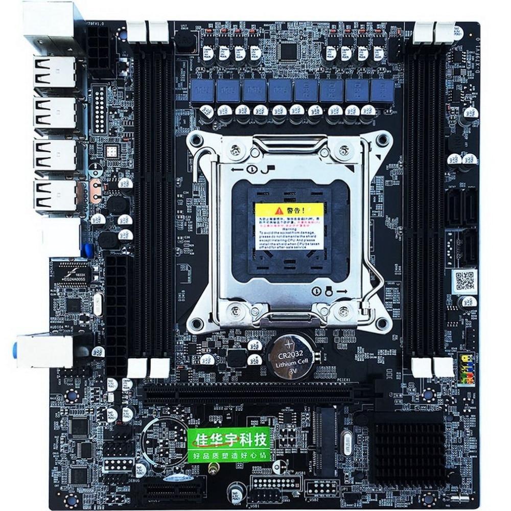 H61 E5 placa base de oro V2.49 LGA2011 ATX USB3.0 SATA3 PCI-E NVME M.2 SSD soporte REG ECC memoria y Xeon E5 procesador