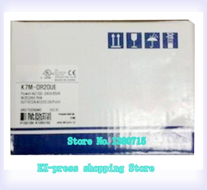 12 DC input 8 relay output 85-264VAC K7M-DR20UE relay PLC k7m drt30u plc 18 dc input 8 relay and 4 transistor output 85 264vac programming controller