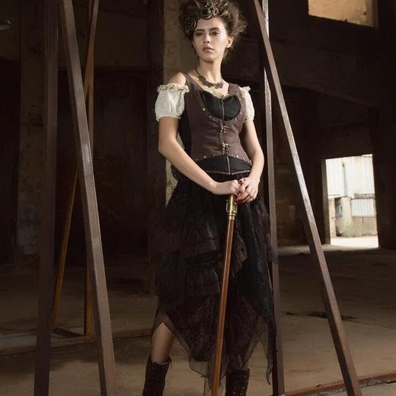 Стімпанк готичне мереживо Vintage - Жіночий одяг