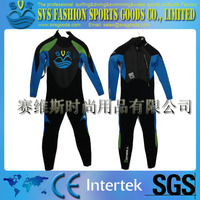 High quality thick wetsuit / diving suit long sleeved pants warm clothes SBR/CR 3mm one piece wetsuit