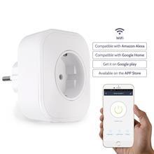 Германия Горячая умный переключатель розетка 10А Prise Wifi с Alexa/Google