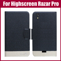 Highscreen Razar Pro Case New Arrival 5 Colors Fashion Flip Ultra-thin Leather Protective Cover For Highscreen Razar Pro Case