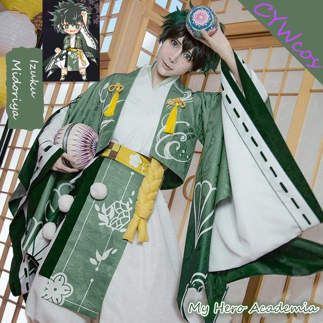 My Hero Academia Izuku Midoriya deku Cosplay Costume ...