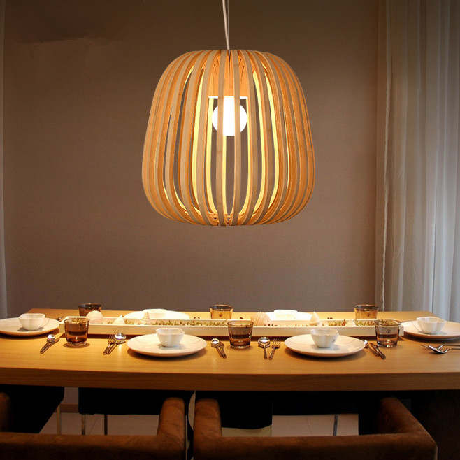 Bamboo Wicker Rattan Shade Pendant Light Fixture Rustic