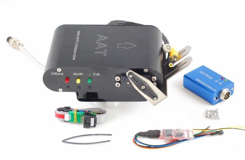 MyFlyDream MFD AAT 12CH V5.1 antenne de suivi automatique cardan à micro-ondes avec pilote TeleFlyPro & V5 AAT
