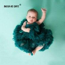 Новинка, 19 цветов, юбка-пачка для новорожденных Потрясающая юбка-пачка для девочек на фотосессию вечерние юбки для малышей возрастом от 3 до 24 месяцев