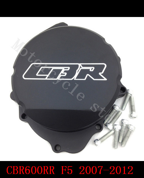 for Honda CBR600RR CBR600 CBR F5 2007 2008 2009 2010 2011 2012 2013 2014 Motorcycle Engine Stator cover Black Lefe side for honda cbr600rr 2007 2008 2009 2010 2011 2012 motorbike seat cover cbr 600 rr motorcycle red fairing rear sear cowl cover