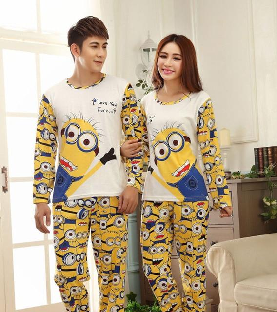 Despicable Me Minion Minions Pijamas Adult Pyjamas Women Pajamas Set Onesie  Sleepwear Bathrobe Kigurumi Mujer Feminino QQ205 113c62bd4