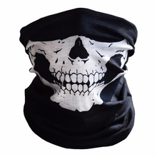 Party Mask 1/2 Piece  SKULL Ghost Face Motorcycle Windproof Mask Outdoor Sports Warm Ski Caps Bicyle Bike Balaclavas Scarf motorcycle skull ghost face windproof mask outdoor sports warm ski caps bicycle bike balaclavas masks scarf a variety of styles