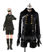 Custom Made NieR: Automata YoRHa No.9 Type S (9S) Cosplay Costume Full Set