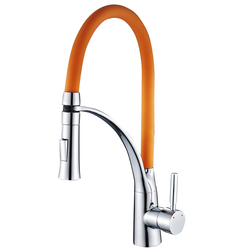 European style kitchen faucet creative hot and cold copper rotating sink sink faucet shower head sink pull LO510532European style kitchen faucet creative hot and cold copper rotating sink sink faucet shower head sink pull LO510532