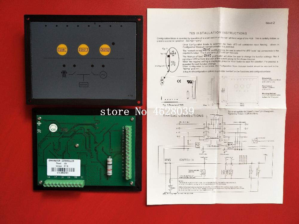 NEW Auto Transfer Switch ATS Genset//Generator Controller Module DSE705