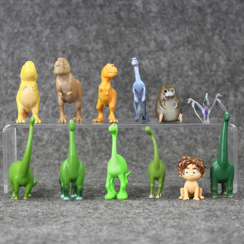 12pcs//lot   ice age doll elephant squirrel fox dinosaur boys toys