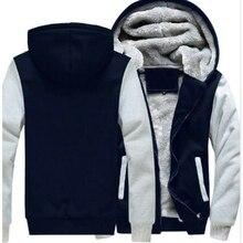 Однотонные толстовки мужские/женские толстовки со специальным принтом флис утолщение осень зима мужские теплые пальто брендовая куртка