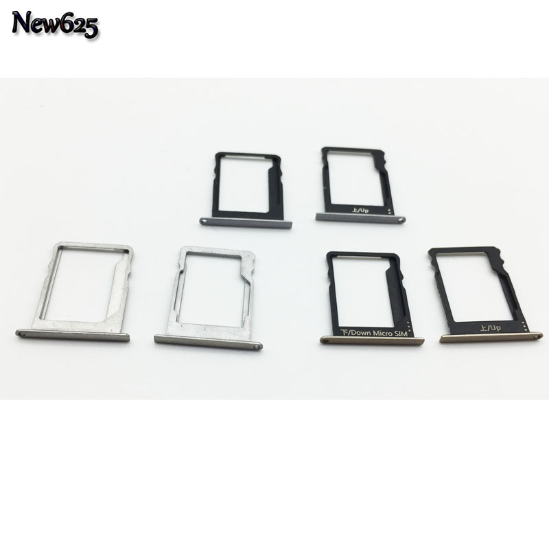 US $2 92 10% OFF|OEM For Huawei P8 Lite SD Card Slot Holder For Huawei P8  Lite SIM SD Card Adapter Replacement Part-in SIM Card Adapters from