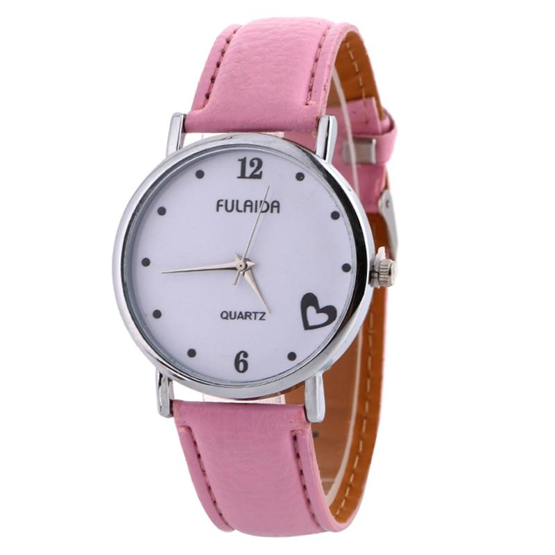2017 New Brand Geneva Watch Womens Retro Design Leather Band Analog Alloy Quartz Wrist Watch 100pcslot