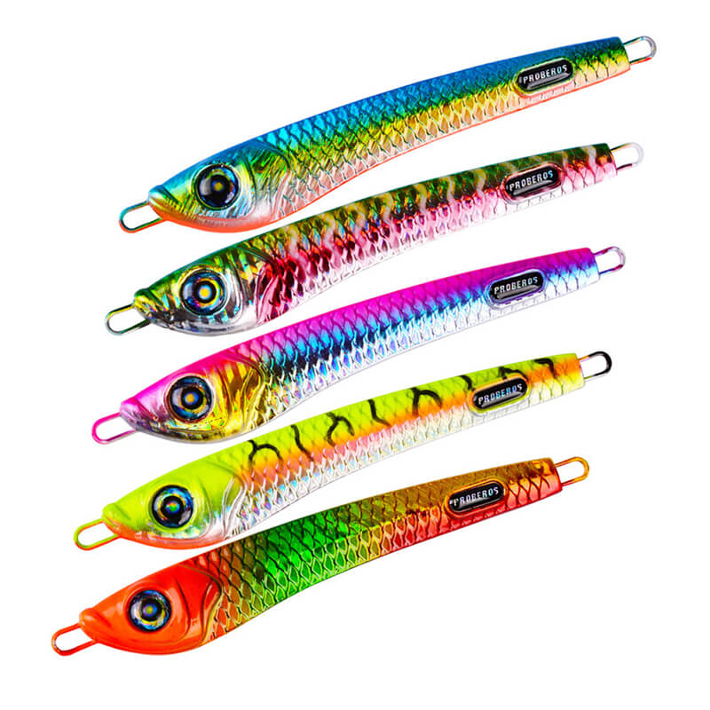 6pcs Micro Jigs Butterfly Sea Fishing Slow Lures 40g 60g Perch Snapper Jiggings