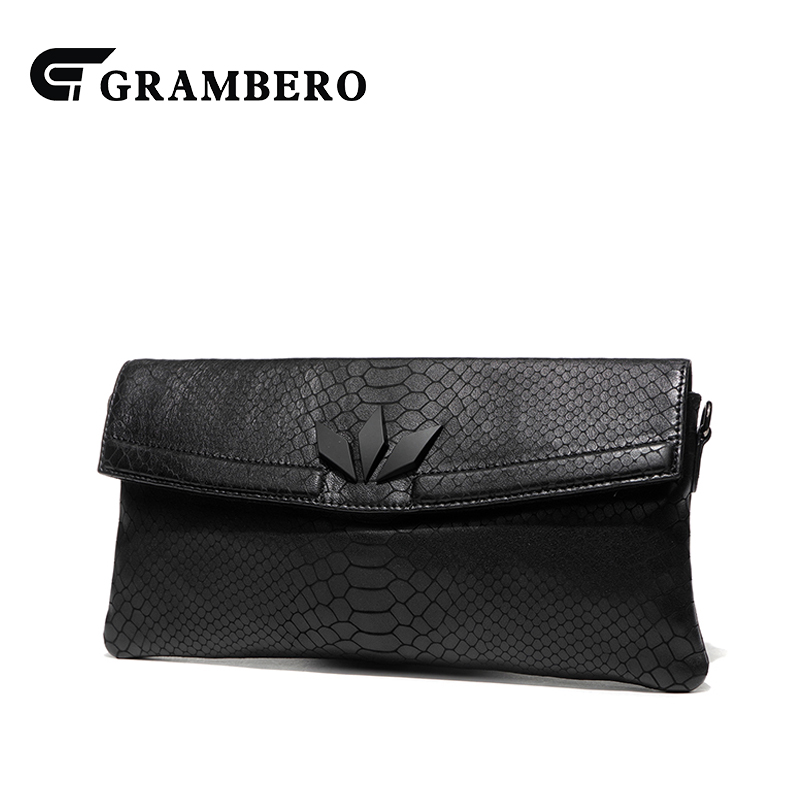 Women Fashion Shoulder Bag Genuine Leather Envelope Clutch Wallet Large Capacity Purse Party Shopping Crossbody Bags Sent Friend
