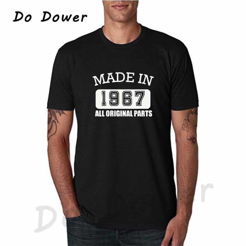 Made In 1967 All Original Parts T Shirt 50 Years Of Being 50th Birthday TShirt