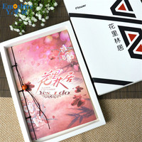 Hot Sell High Quality Memo Pad Notebook Gift Boxed Creative Student Retro NotePad Diary Notebook N073