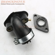 Intake Manifold Pipe for GY6 Moped Scooter ATV Go Kart SunL 50cc 60cc 80cc 100cc 139QMB