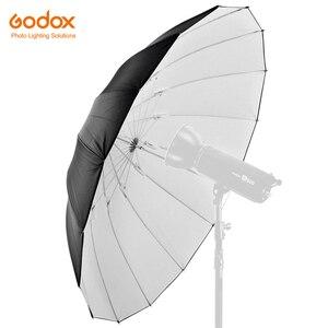 """Image 1 - GODOX Studio Photogrphy 60 """"150 cm czarny biały oświetlenie odblaskowe lekki parasol"""