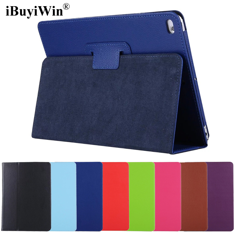 iBuyiWin Folding Folio Case for iPad Air 1 Magnetic Smart Cover for iPad Air Stand PU Leather Case for iPad 5 9.7 Funda+Film+Pen