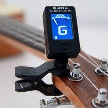 800 шт JOYO JT 01 чувствительный Мини цифровой ЖК тюнер на зажиме для гитары бас скрипки укулеле гитарра части Аксессуары Оптовая продажа