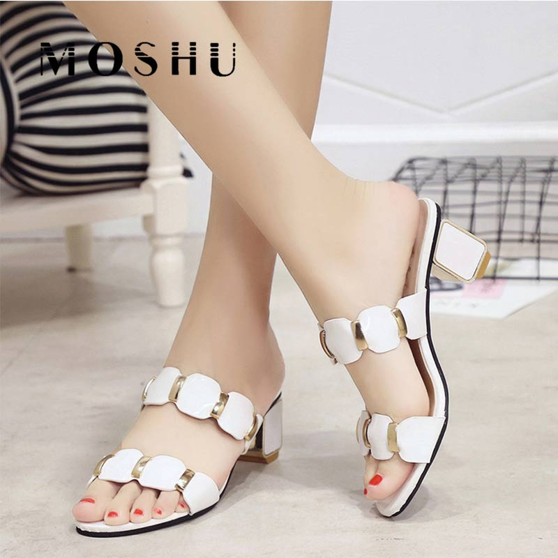 Sandals Women High Heels Female Square Heels Sandalia Feminina Ladies Pump Shoes Party Wedding Peep Toe Shoes Black sandaliasSandals Women High Heels Female Square Heels Sandalia Feminina Ladies Pump Shoes Party Wedding Peep Toe Shoes Black sandalias