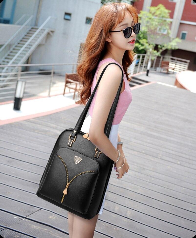 HTB1O2qzCuOSBuNjy0Fdq6zDnVXaS Nevenka Anti Theft Leather Backpack Women Mini Backpacks Female Travel Backpack for Girls School Backpacks Ladies Black Bag 2018