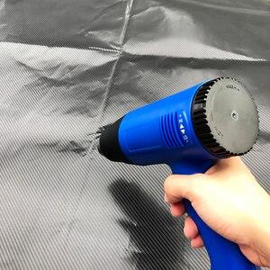 Image 5 - 3 pçs/set Ferramentas de Embrulhar em Película de Vinil Carro Plug UE Heat Gun + Rodo Raspador + Faca Cortador de Vinil Do Carro Automóveis Acessórios Do Carro