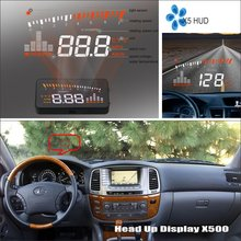 Liislee Car Computer Screen Display Projector Refkecting Windshield FOR Lexus LX 470 LX470 - Safe Driving
