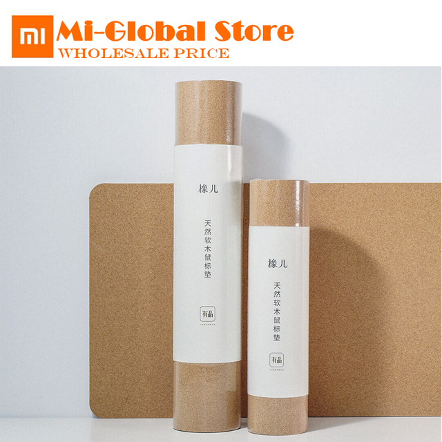 Original xiaomi mijia oak natural softwood mouse pad anti fouling waterproof Ultra Soft Computer Mouse Padding Mat touch natural