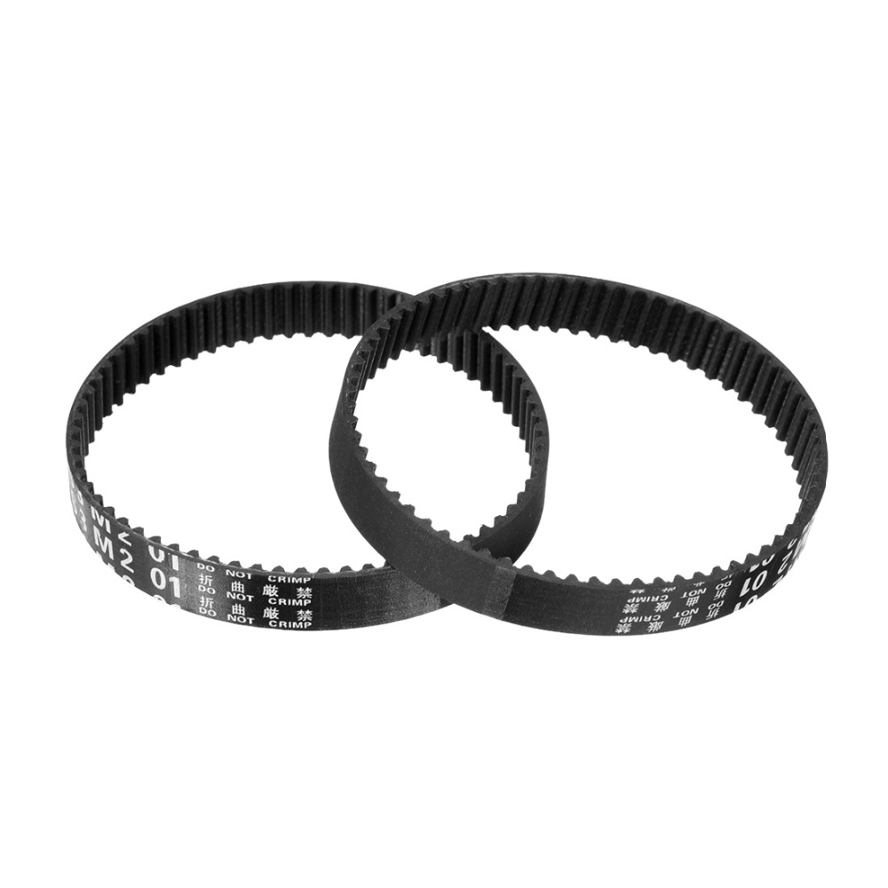60-98XL Rubber Timing Belt Synchronous Open Loop Timing Belt Pulleys 10mm Width