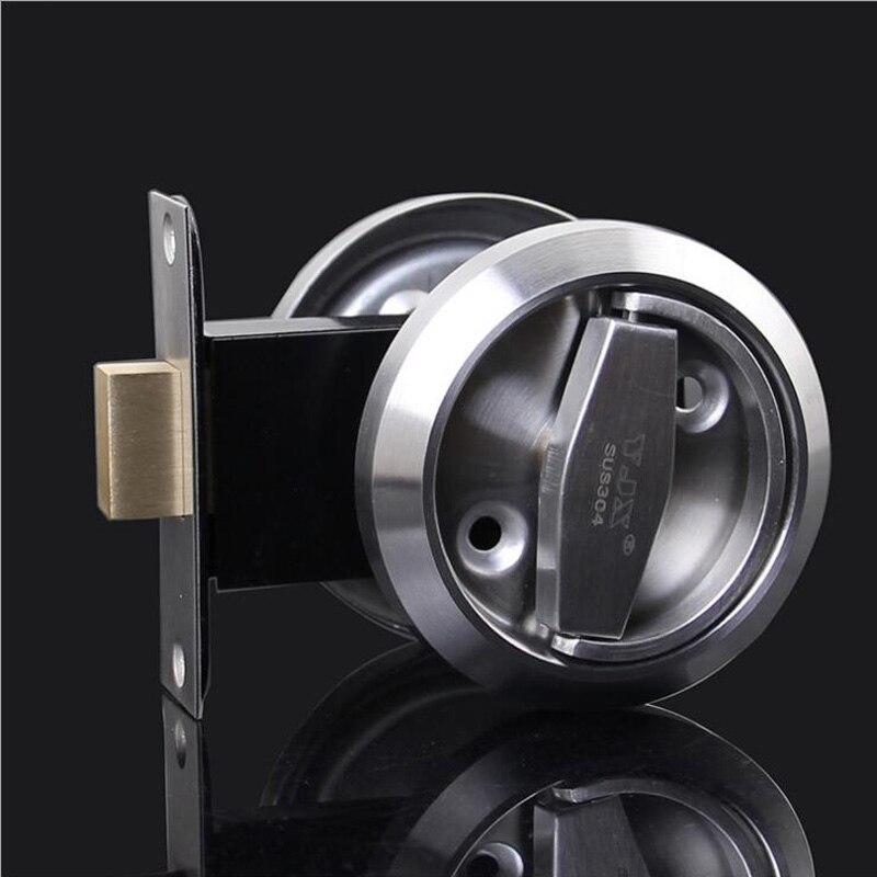 Meticulous Sliding Door Lock Interior Bathroom and Lavatory Lock Hook Invisible Move Door Lockset DL17005 ospon sliding door locks invisible door