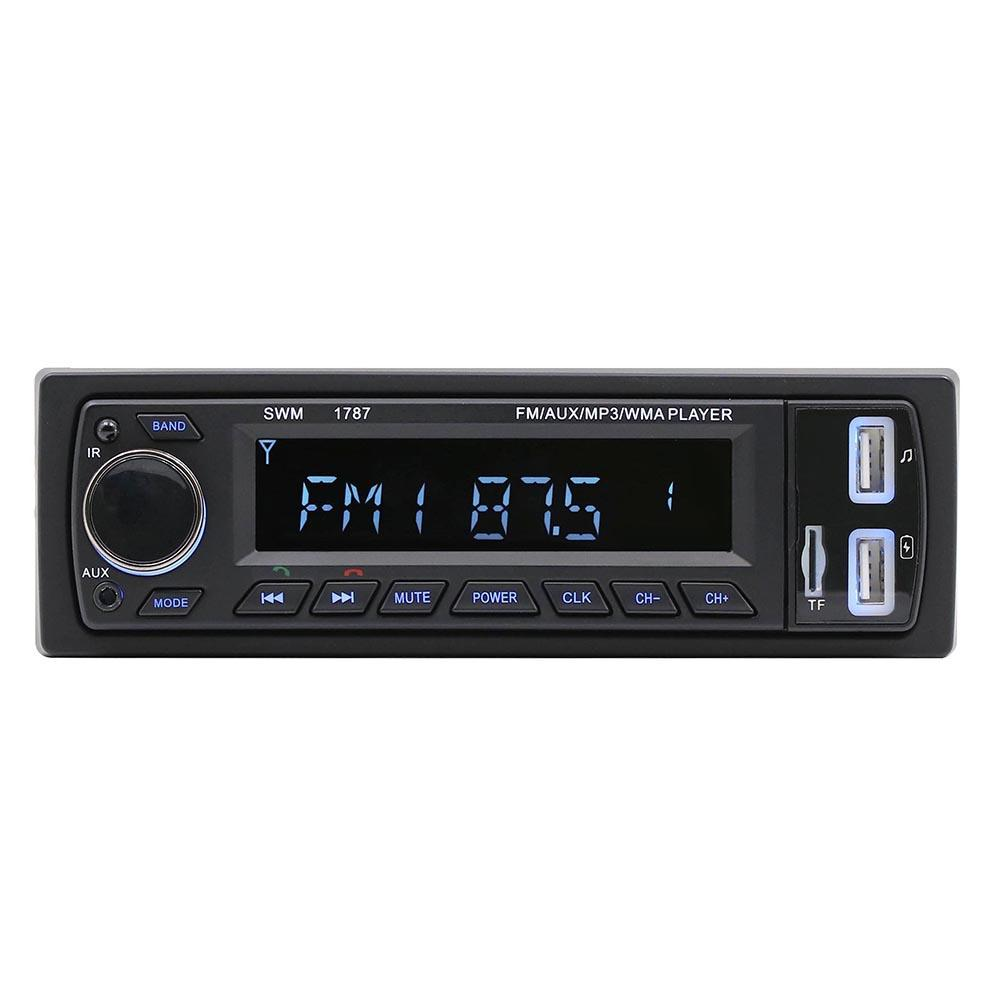 Multifunction Bluetooth Car Stereo Audio FM MP3 Radio Player ISO Standard Interface SD 2USB MP3 MP4 MP5 MMC WMA Car Radio Player