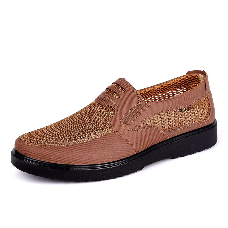 Hommes chaussures 2018 nouveaux arrivants hot mesh respirant Ultra-léger chaussures à lacets hommes baskets printemps confortable hommes vulcaniser chaussures 48 - 2