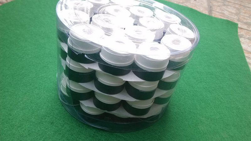 Free shiping 60 pcs WhiteTennis grip, Anti-skid Sweat Absorbed badminton grip,badminton overgrip NO LOGO