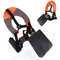 DWZ Double Padded Strimmer Brushcutter Harness Quick Release Shoulder Straps Suits