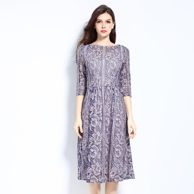 c8f386e336 2017 Plus Size 5XL Summer Dress Vintage Boho Evening Printed Party Women  Office Runway Beach Casual Club Ladies Ukraine Dresses