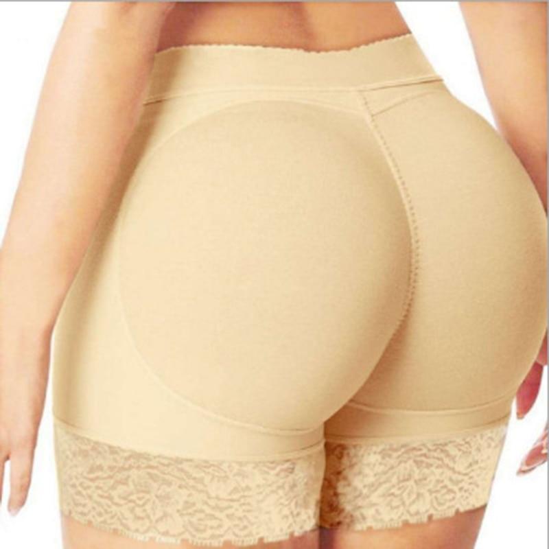 Seamless Butt Enhancer Boyshorts Removable Pads Padded Panties Undies Elegant