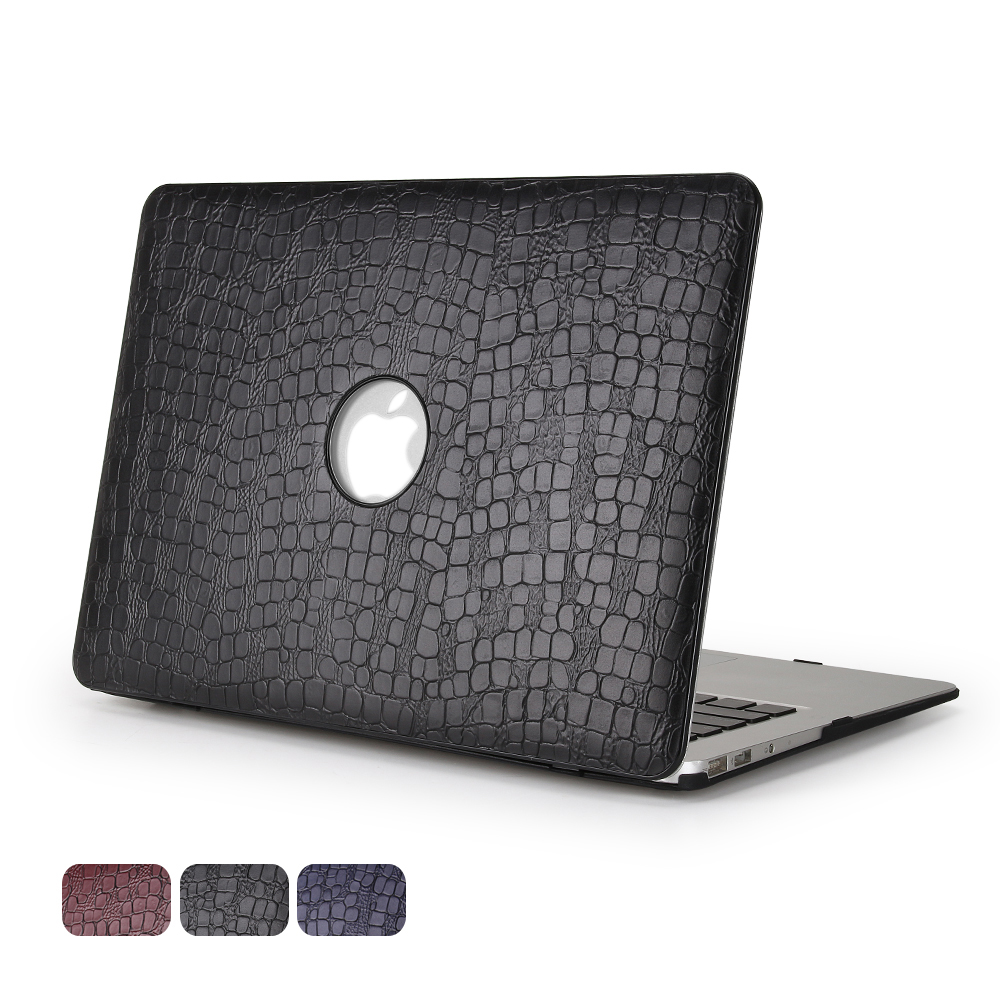 Image 5 - For MacBook Air 13 Case, Aiyopeen PU leather with hard plastic bottom cover For MacBook  Air Pro Retina 11 12 13 15-in Laptop Bags & Cases from Computer & Office