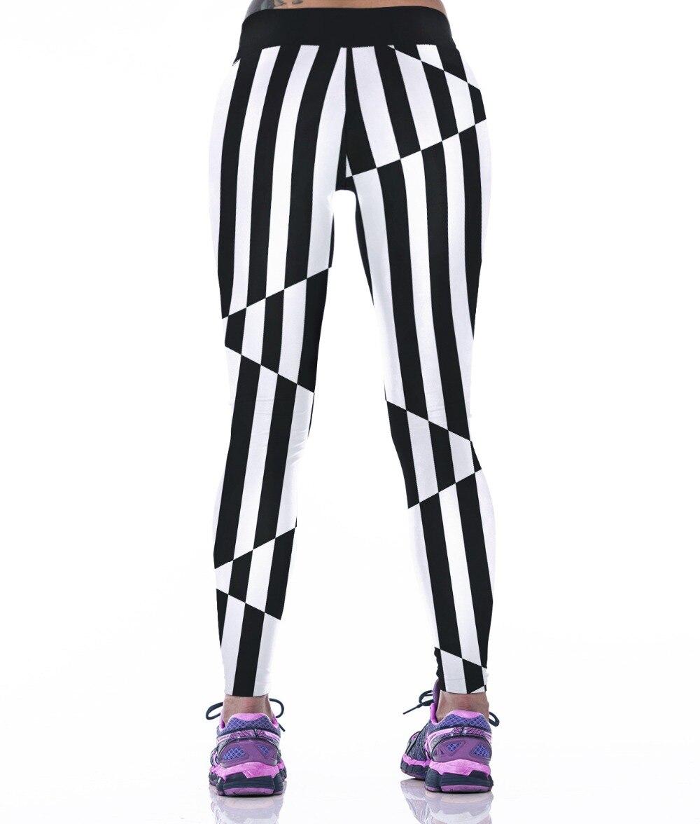 Prix pour Echoine Femmes Haute Élasticité Yoga Pantalon 2017 Automne Chaud Numérique Imprimé Collants Running Sport Fitness Leggings Flexiable Pantalon