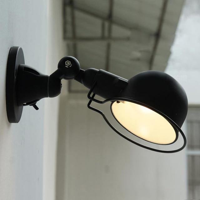 robot vintage mur lumière de mode chambre lampe de chevet pour la