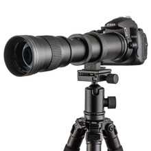 420-800mm F/8.3-16 Zoom Telephoto Lens+T2 To Adapter for Canon 5D II&III 7D 760D 750D