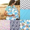 Nova capa de enfermagem amamentação mãe 100% algodão maternidade avental de enfermagem amamentação covers