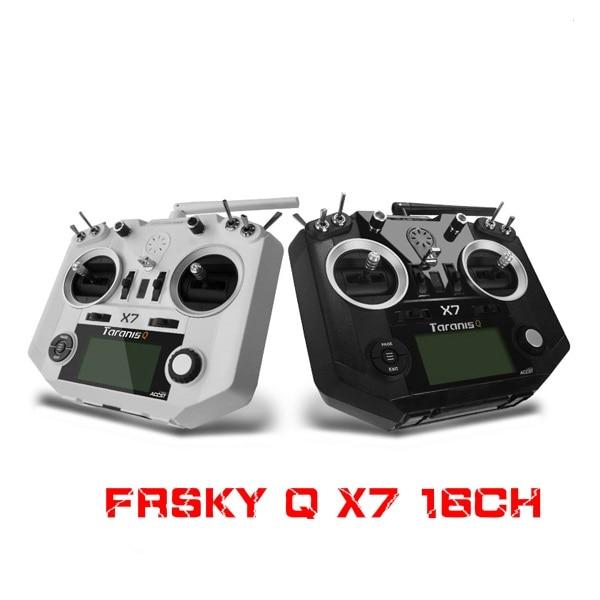 FrSky ACCST Taranis Q X7 QX7 2,4 GHz 16CH sin receptor para RC Multicopter