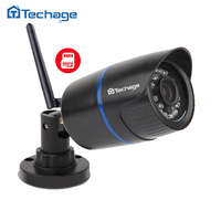 Techage 720P 1080P Wireless IP Camera Indoor Outdoor Waterproof P2P ONVIF WIFI CCTV Security Camera Motion