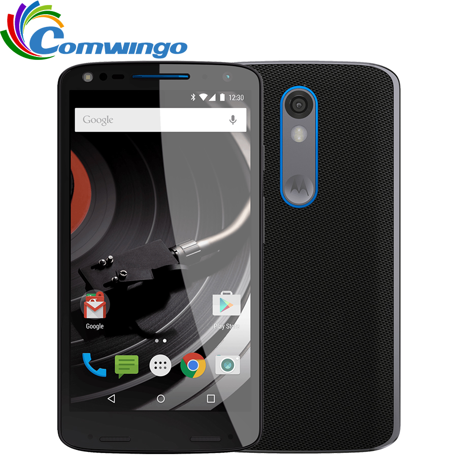 Desbloqueado Motorola DROID turbo 2 XT1585 3 GB RAM 32 GB ROM 4G LTE Mobile Phone 21MP 2560x1440 5.4 64bit Snapdragon810 Telefone